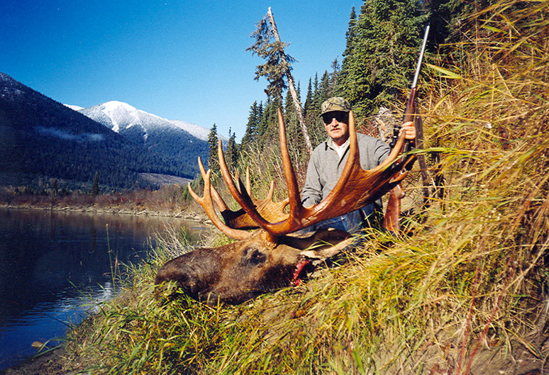 Moose Hunting in BC