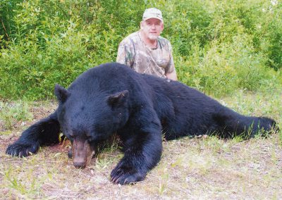 Black Bear Hunting with McGregor River Outfitters