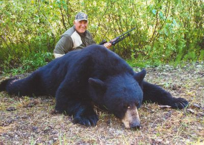 Black Bear Hunting with McGregor River