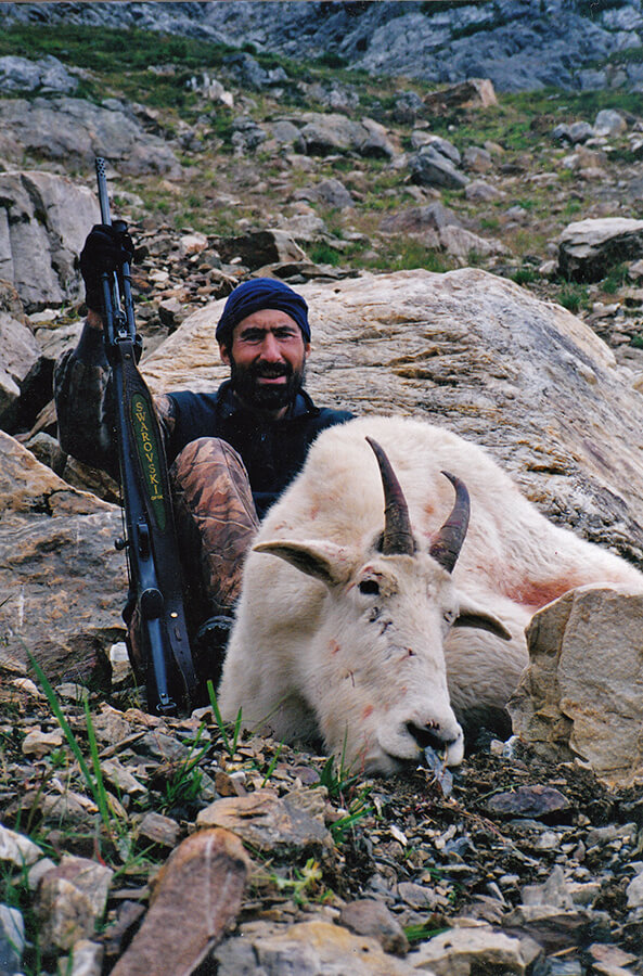Mountain Goat Hunting with McGregor River Outfitters
