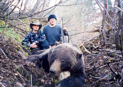 Grizzly Hunting with McGregor RIiver Outfitters