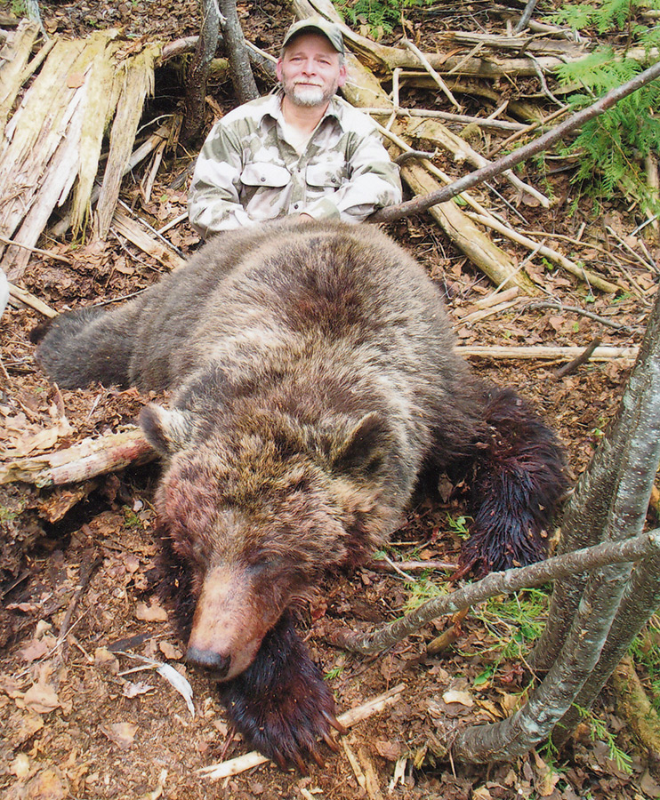 Successful Grizzly Bear Hunt