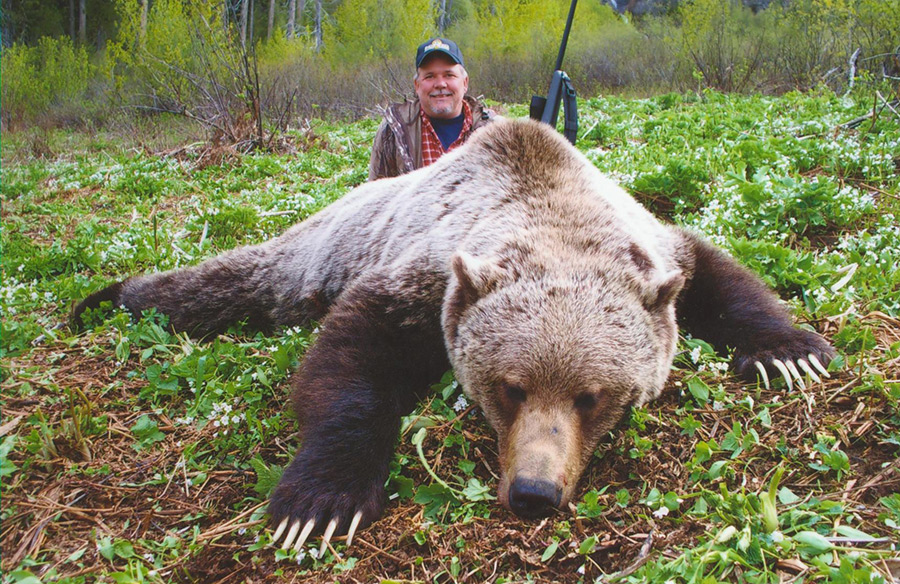 Grizzly Bear Hunting with McGregor River Outfitters