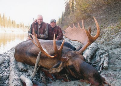McGregor River Outfitters Bull Moose Hunts