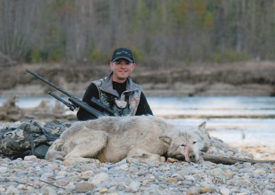 Wolf Hunting with McGregor River Outfitters